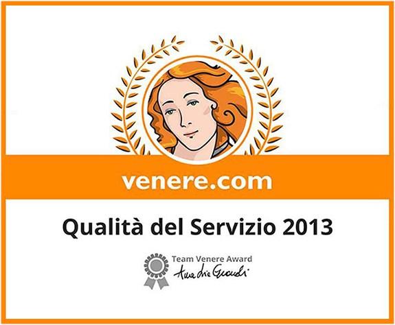 Riconoscimenti-2013_VENERE_SERVIZIO